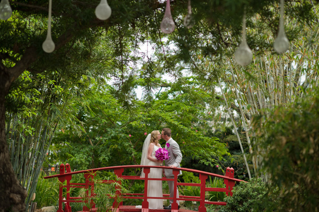 Delicious caterer venues for Florida botanical gardens wedding